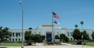 здание муниципалитет monica santa Стоковые Фото