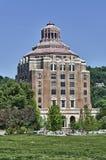 здание муниципалитет nc asheville Стоковая Фотография