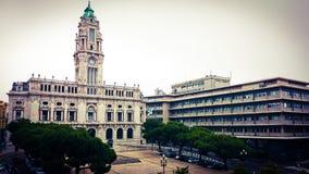 Здание муниципалитет Oporto Стоковая Фотография