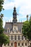 здание муниципалитет paris Стоковые Фотографии RF