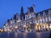здание муниципалитет paris Стоковая Фотография RF