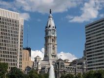 здание муниципалитет philadelphia Стоковое Изображение