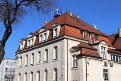 Здание муниципалитет Swietochlowice Стоковые Изображения RF