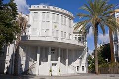 Здание муниципалитет Tel Aviv старое Стоковое Изображение RF