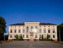 Здание муниципалитет Telemark Норвегия Скандинавия Porsgrunn стоковые фотографии rf