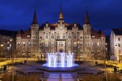 Здание муниципалитет Walbrzych Стоковое Изображение