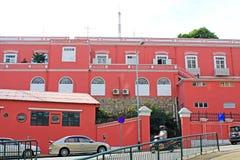 Здание наследия сил безопасности музея Макао, Макао, Китая Стоковое Изображение RF