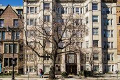 Здание на государстве Ave в МАМАХ Бостона, США стоковая фотография rf
