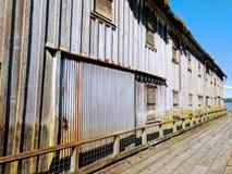 Здание на пэре стоковое изображение rf