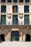 Здание на tudela стоковая фотография