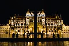 Здание парламента в Будапеште, столице Венгрии Стоковые Изображения RF
