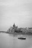 Здание парламента в Будапешт стоковые изображения rf