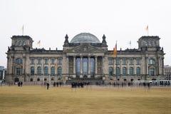 Здание парламента Германского Бундестага немецкое федеральное в Берлине Германии стоковая фотография rf