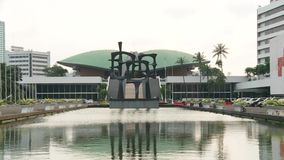 Здание парламента Индонезии сток-видео