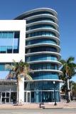 здание пляжа южное стоковое фото