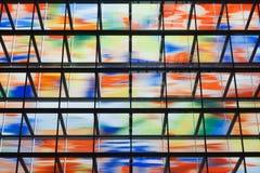 здание покрашенное внутри много самомоднейших окон Стоковые Изображения RF