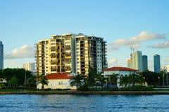 Здание портового района пляжа Майами южное Стоковое Фото