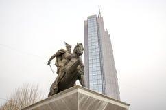 Здание правительства Косова в Prishtina стоковая фотография
