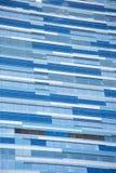 здание предпосылки голубое Стоковые Фотографии RF