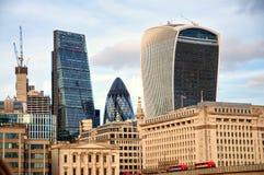 Здание рации улицы 20 Fenchurch - Лондон, Великобритания Стоковое фото RF