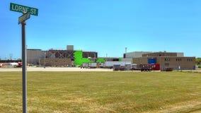 Здание Сени Роста Корпорации в кузнцах падает Онтарио, Cana Стоковые Фотографии RF