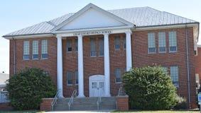 Здание серой школы SC суда-Owings первоначально главное Стоковые Фото