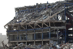 здание сокрушило стадион shea стоковые изображения rf