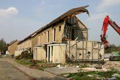 здание сокрушило Стоковые Изображения