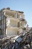 здание сокрушило Стоковое Изображение RF