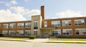 Здание средней школы Стоковое Изображение RF