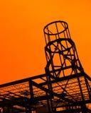 Здание стальной балки под конструкцией Стоковая Фотография RF