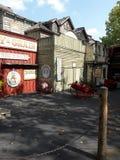 Здание старого городка историческое Стоковые Изображения RF