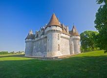 здание столетие замок de monbazillac шестнадцатое Стоковое фото RF