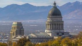 Здание столицы государства Юты в Солт-Лейк-Сити стоковое фото