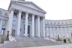 здание суда графства города стоковые изображения