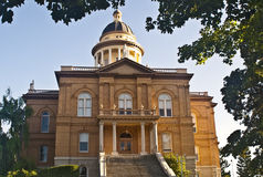 здание суда историческое Стоковая Фотография