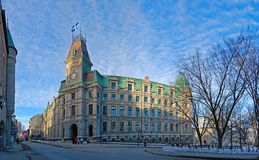 Здание суда Квебека (город), Квебек, Канада Стоковая Фотография RF