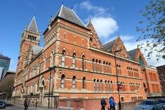 Здание суда Манчестера Великобритании стоковое изображение
