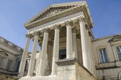 Здание суда Монпелье во Франции стоковая фотография rf