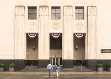 Здание суда Теодора Levin Соединенных Штатов стоковое изображение