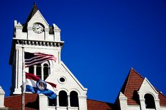 здание суда стоковая фотография