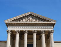 здание суда стоковое изображение