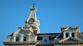 Здание суда Henry County стоковые фотографии rf