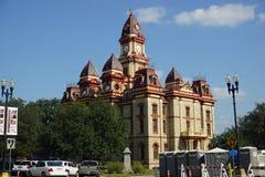 Здание суда Lockhart стоковое изображение