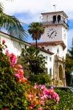 Здание суда Santa Barbara Стоковая Фотография