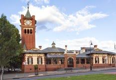 Здание суда Wagga Wagga, NSW, Австралия стоковое фото