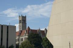 Здание суда Wood County стоковое фото