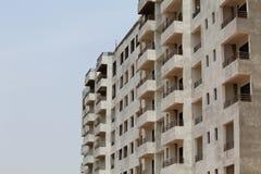 Здание с взглядом со стороны 2 много квартир Стоковые Изображения RF