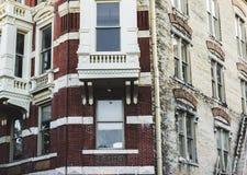 Здание тросточки конфеты Стоковые Фото