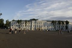 Здание управления города Стоковая Фотография
